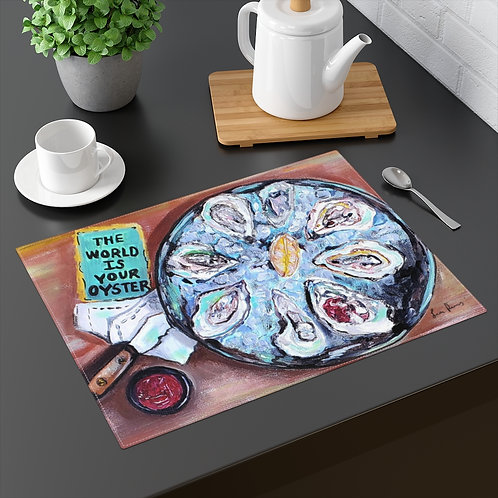 The World Is Your Oyster Placemat