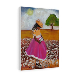 girl-cotton-field-premium-gallery-wrap-canvas-print