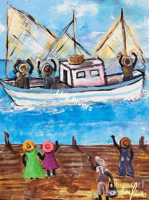 Return of The Gullah Shrimpers