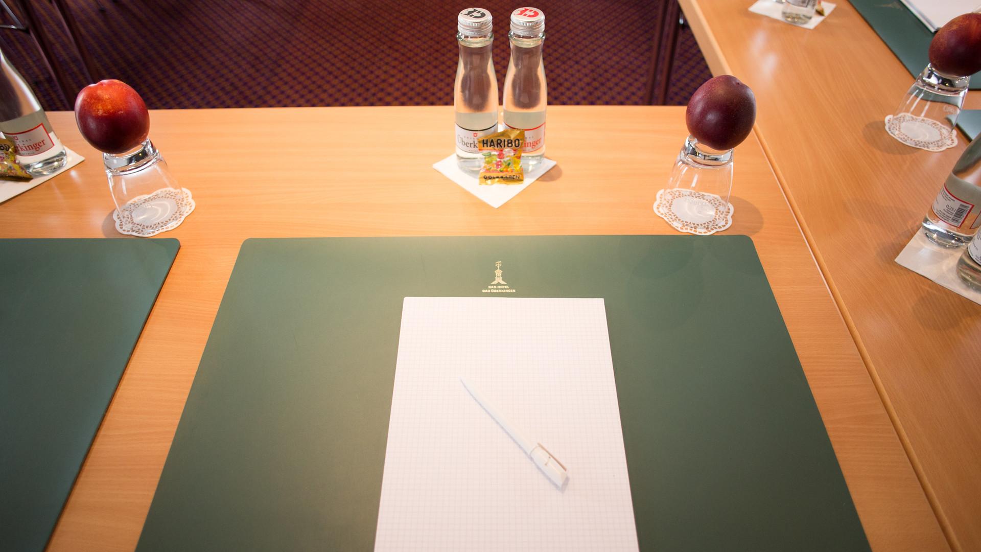 Meetings im Bad-Hotel