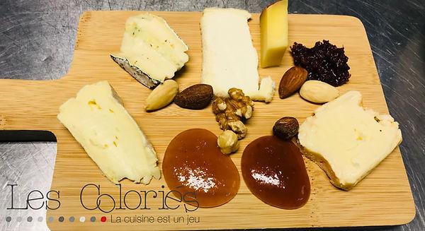 L'assiette de fromages de la Ferme au moulin