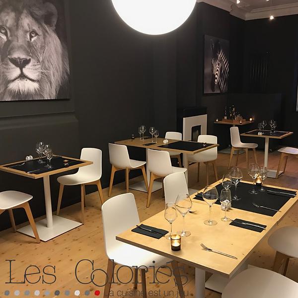 salle du  restaurant Les Coloriés à Oleye