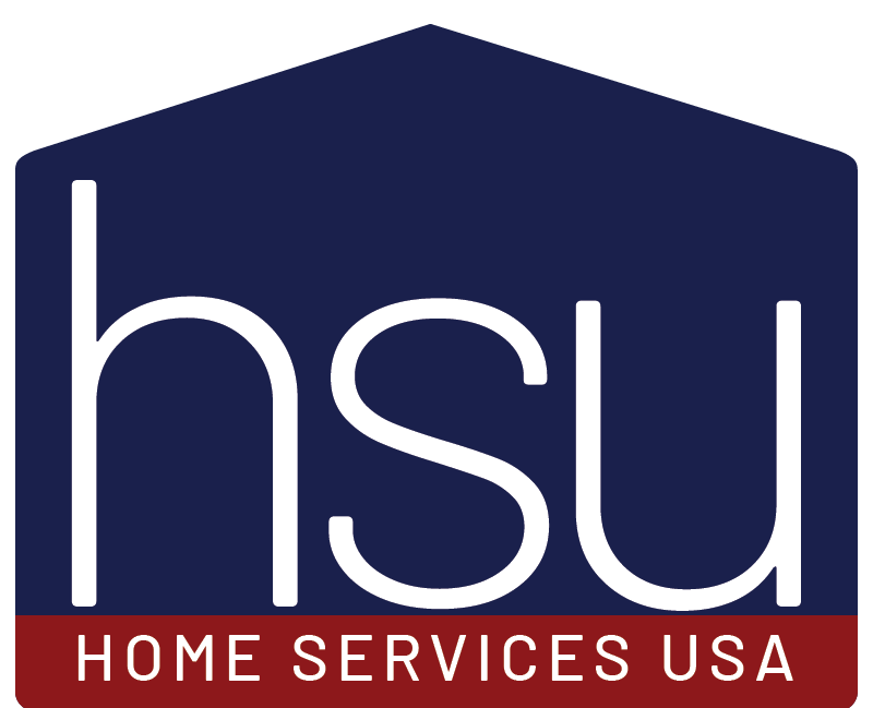 Home Services USA logo. HSU is theparent company of 1 Day Bath.