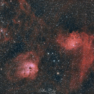 IC417, IC410 & IC405
