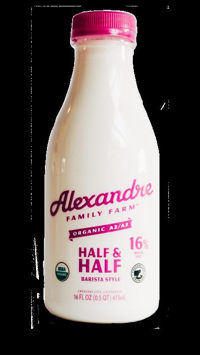 Half & Half (Alexandre Farms Organic)