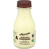 Eggnog (Alexandre Farms Organic)