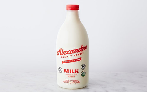 Whole Milk (Alexandre Farms Organic)