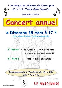 concert annuel 2018