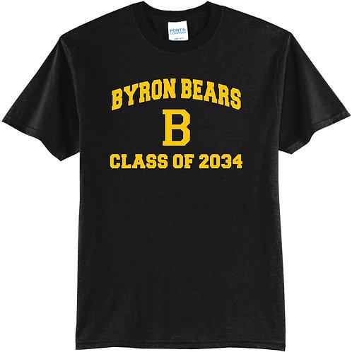 Byron Bears Class of 2034 T-Shirt Short Sleeve