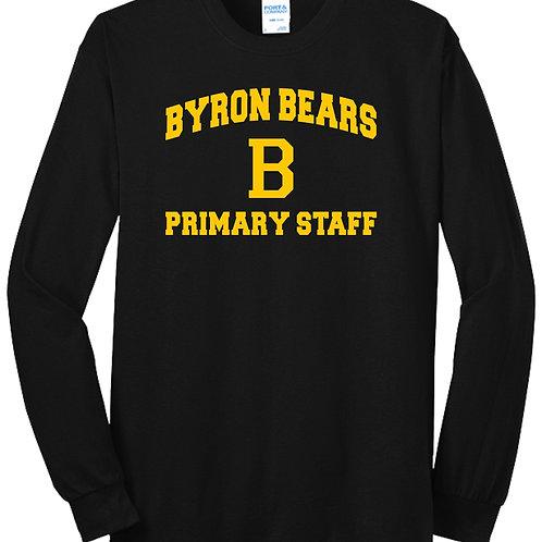 Byron Bears Class of Primary Staff T-Shirt Long Sleeve