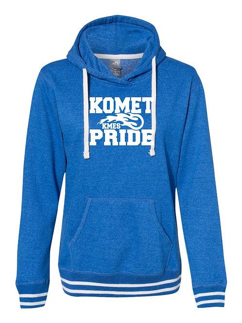 KMES  J.America - Women's Relay Hooded Sweatshirt