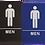 Thumbnail: ADA Mens Restroom Sign