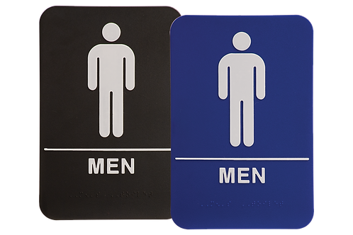 ADA Mens Restroom Sign