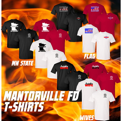 Mantorville Fire and Rescue T-Shirts