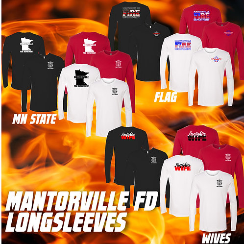 Mantorville Fire and Rescue Long Sleeve T-Shirts