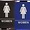 Thumbnail: ADA Women Restroom Signs