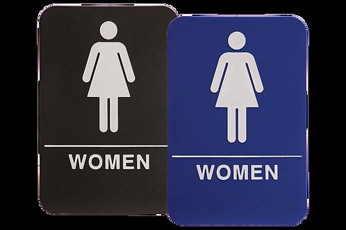 ADA Women Restroom Signs