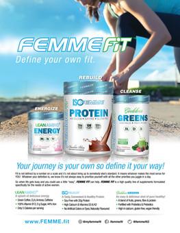 FEMMEFIT Magazine Ad