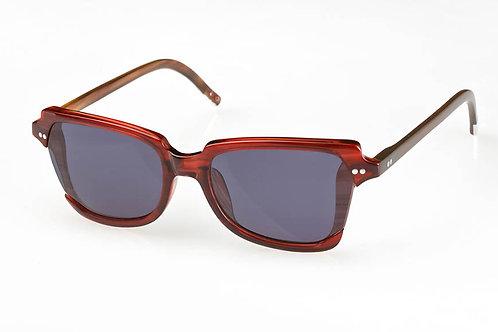 50/50 Eyewear - Andromi w/ Buffalo Horn & Metal Tip Cap