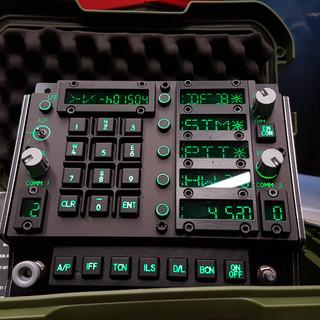 F/A-18C Instrument panels