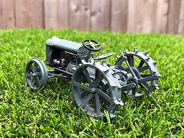 Ferguson Brown Model A Steel Wheels back