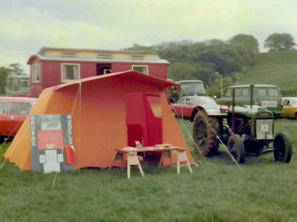 Our First Trade Stand May 1976.jpg