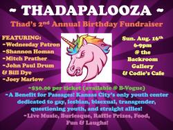 Thadapalooza 2015