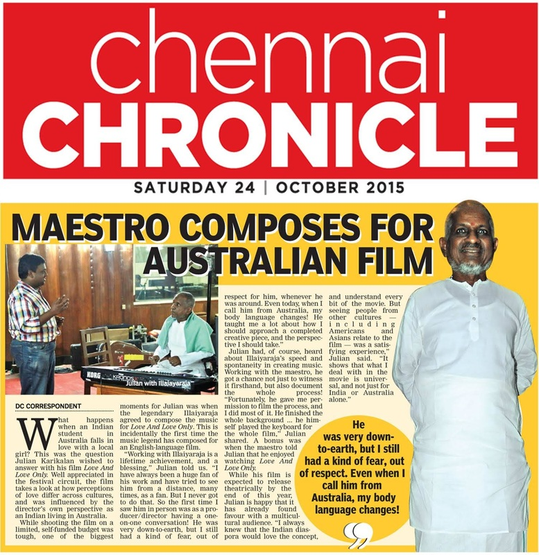 Chennai Chronicle, India