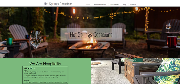 Hot Springs Occasions