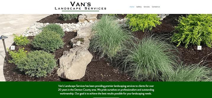 Van's Landscape Services