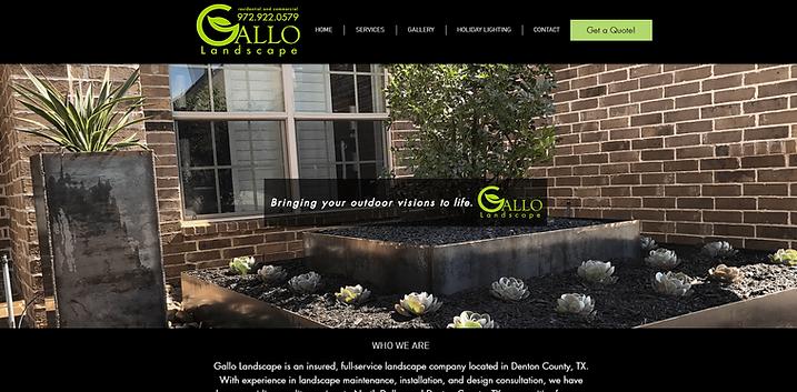 Gallo Landscape