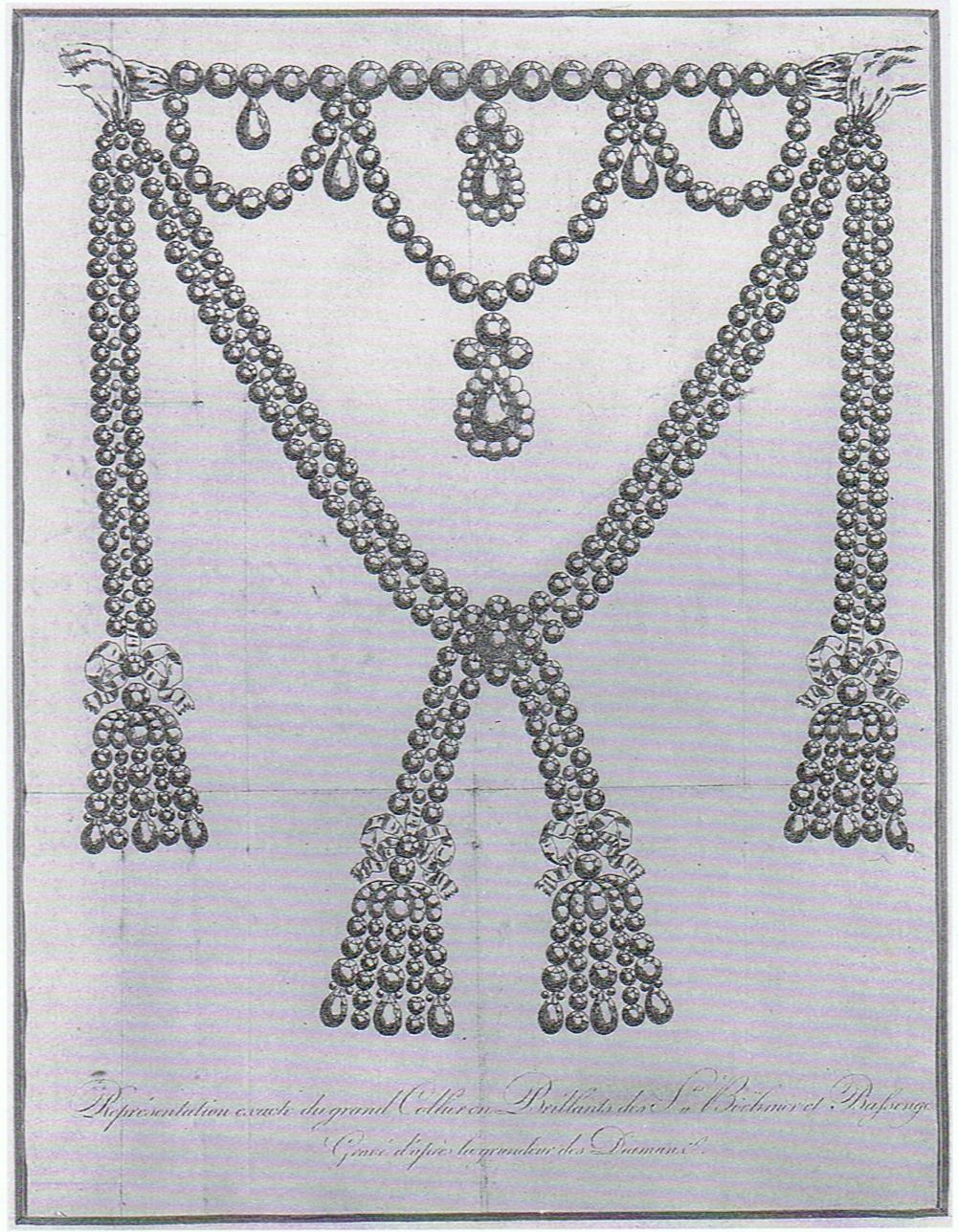 The diamond necklace