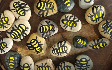ATG Honey Painted Rocks