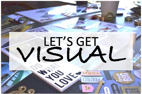 Let's Get VISUAL! Party - Worksheet