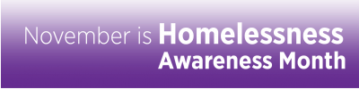 November is National Homeless Youth Awareness Month!