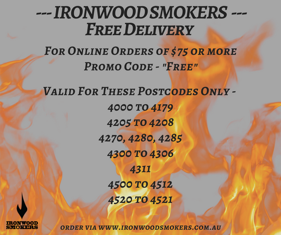 Shipping and Pick Up Discounts - Ironwood Smokers