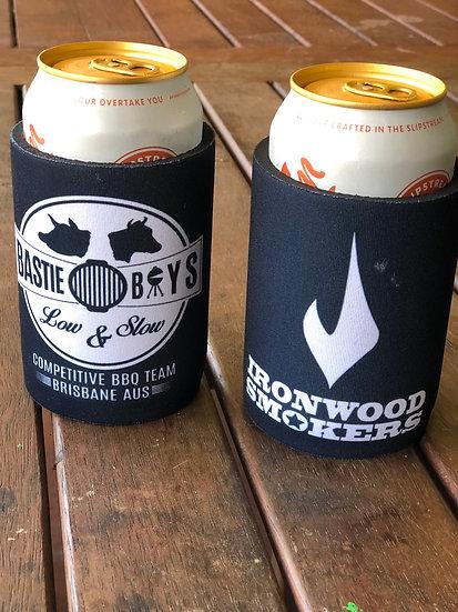 Ironwood Smokers / Bastie Boys Stubby Cooler