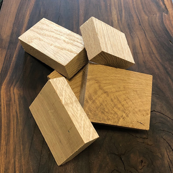 American Oak Block Chunks - 1kg
