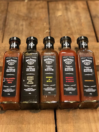 Jack Daniels Sauces and Glaze 280g & 300g