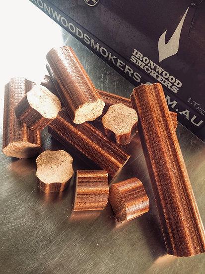 Beechwood Pizza / Smoker Logs and Chunks - 100% Beech