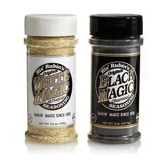 Mis' Rubins Black and White Mix Pack