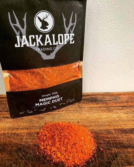 Jackalope Memphis Magic Dust, Memphis Magic Dust, Jackalope Rubs, Jackalope