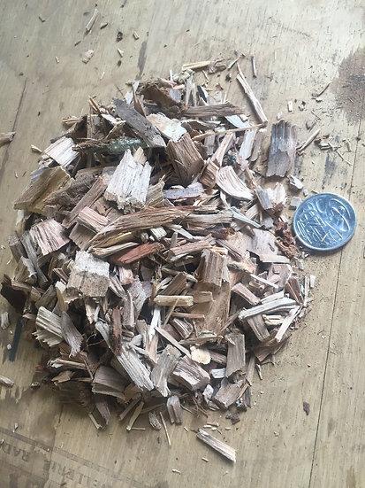 Ironbark Chips - 1kg