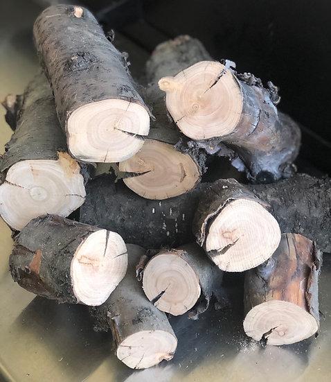 Peach Logs / Split Logs - 1kg