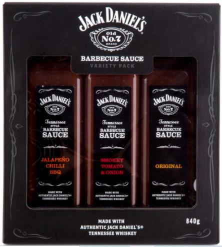 Jack Daniels 3 Sauces Gift Box