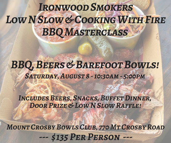 Low n Slow and Cooking With Fire BBQ Masterclass - 8 August 2020