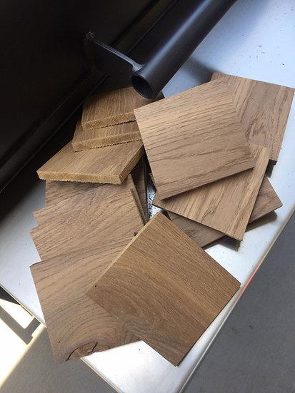 Oak Stave Chunks - 1kg