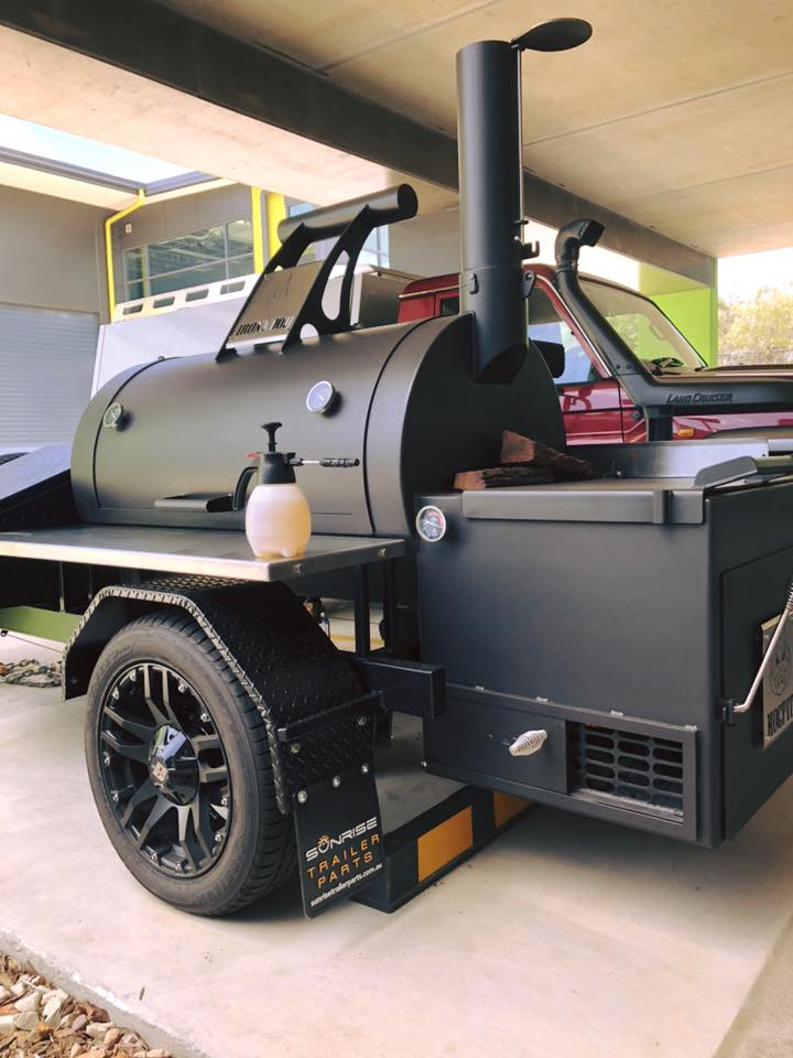 Hogpit Trailer Smoker