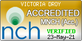 Victoria Droy. NCH Membership 4600. Qualified hypnotherapist