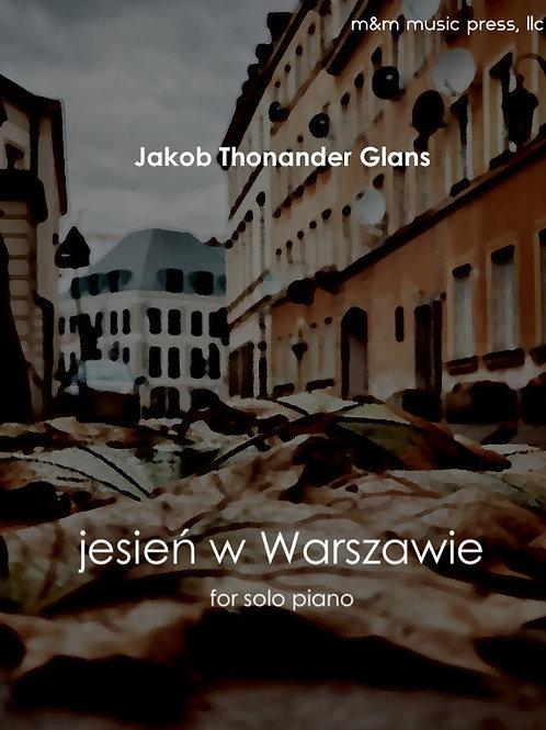 jesień w Warszawie (Solo Piano) - Glans
